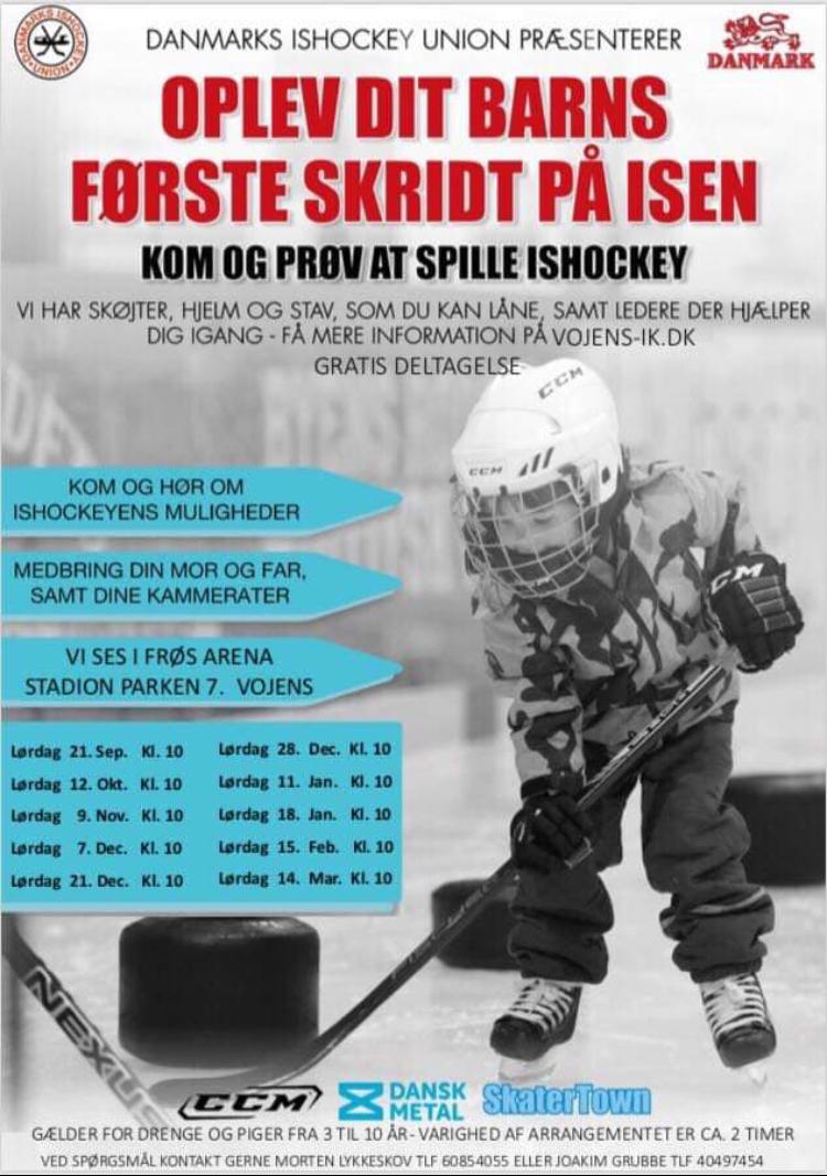 Ishockeyens Dag Er For Dit Barn
